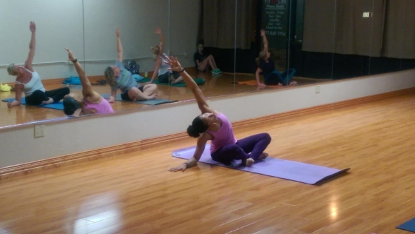 Yoga at Jerome's Gym